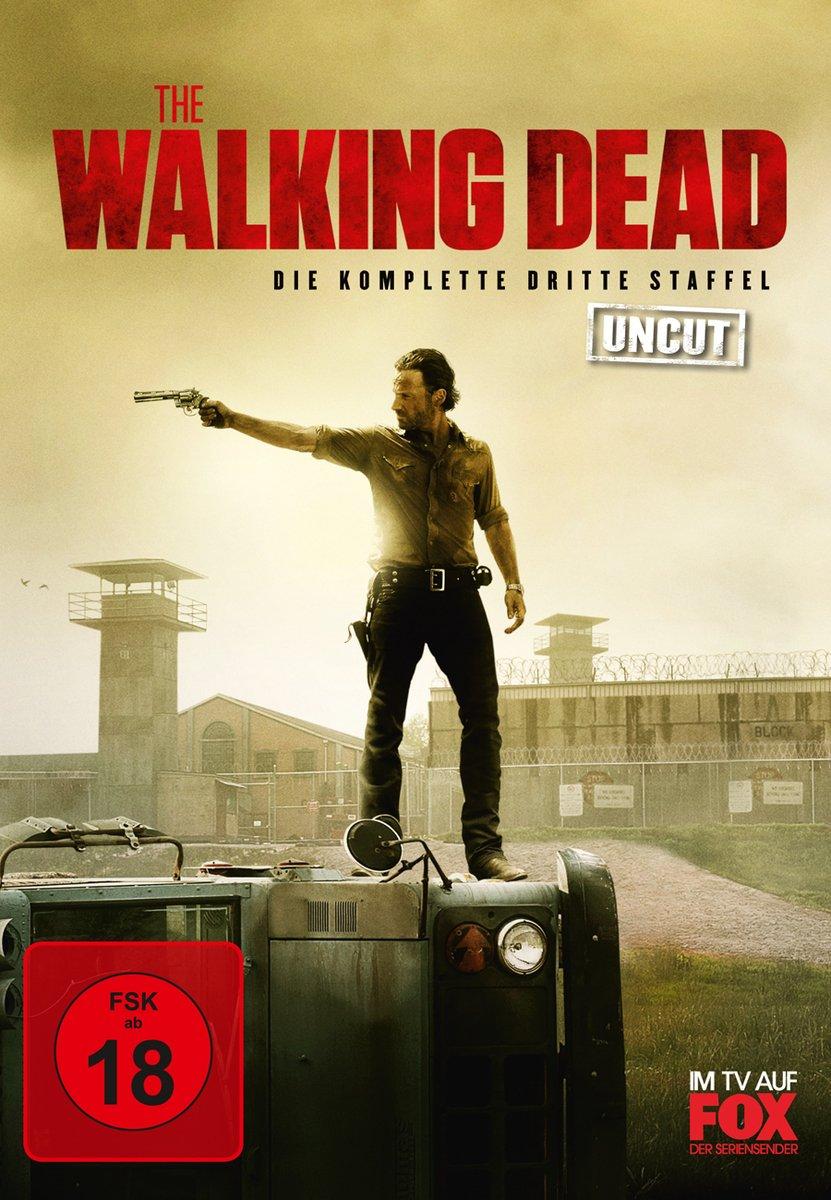 The Walking Dead Komplette Dritte Staffel Uncut  Discs Amazon De Andrew Lincoln Sarah Wayne Callies Laurie Holden Steven Yeun Chandler Riggs