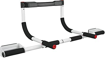 Perfect Fitness Men's Perfect Multifunctional Multi Pro, Strength Training, Pull Up Bar, Fitness Equipment for Home Gym, White, One Size