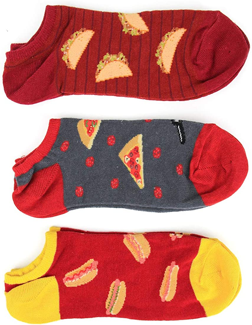 Foot Traffic No-Show Multi Pack Socks