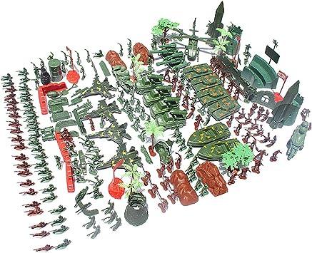 100 pièces en plastique soldat 5cm armée chiffres pour armée sable scène