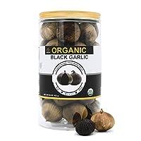 USDA Organic Black Garlic 453g Black Pearl Garlic Jar 1LB 100% Whole Black Garlic