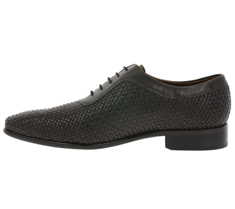Manz Klassische Schuhe Schuhe Schuhe Herren Echtleder-Anzugsschuhe Party-Schuhe Dunkelbraun 9ae71c