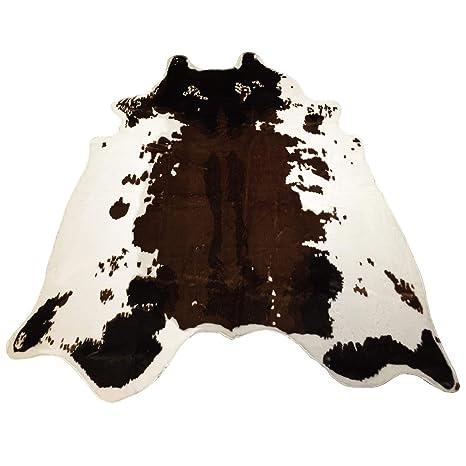 Amazon.com: Jaye estampado de vaca alfombra 4.4 x 4,6 pies ...