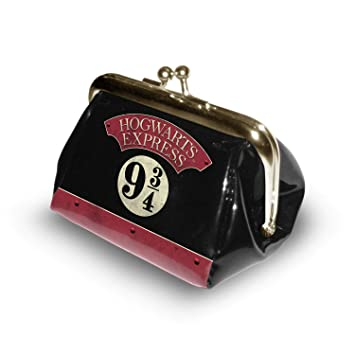 Karactermania Harry Potter Express-Monedero Bombón Monedero, 10 cm, Negro