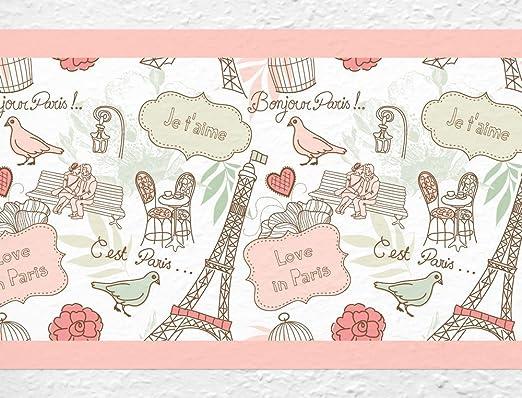 Kinderzimmer Bordüre Selbstklebend | Dekodino Kinderzimmer Bordure Borte Schmetterlinge Wanddeko Kinder