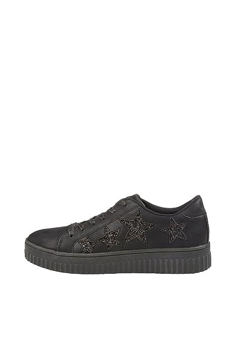 Fritzi aus Preußen Selma Sneaker Glitter Stars, Zapatillas sin Cordones para Mujer: Amazon.es: Zapatos y complementos