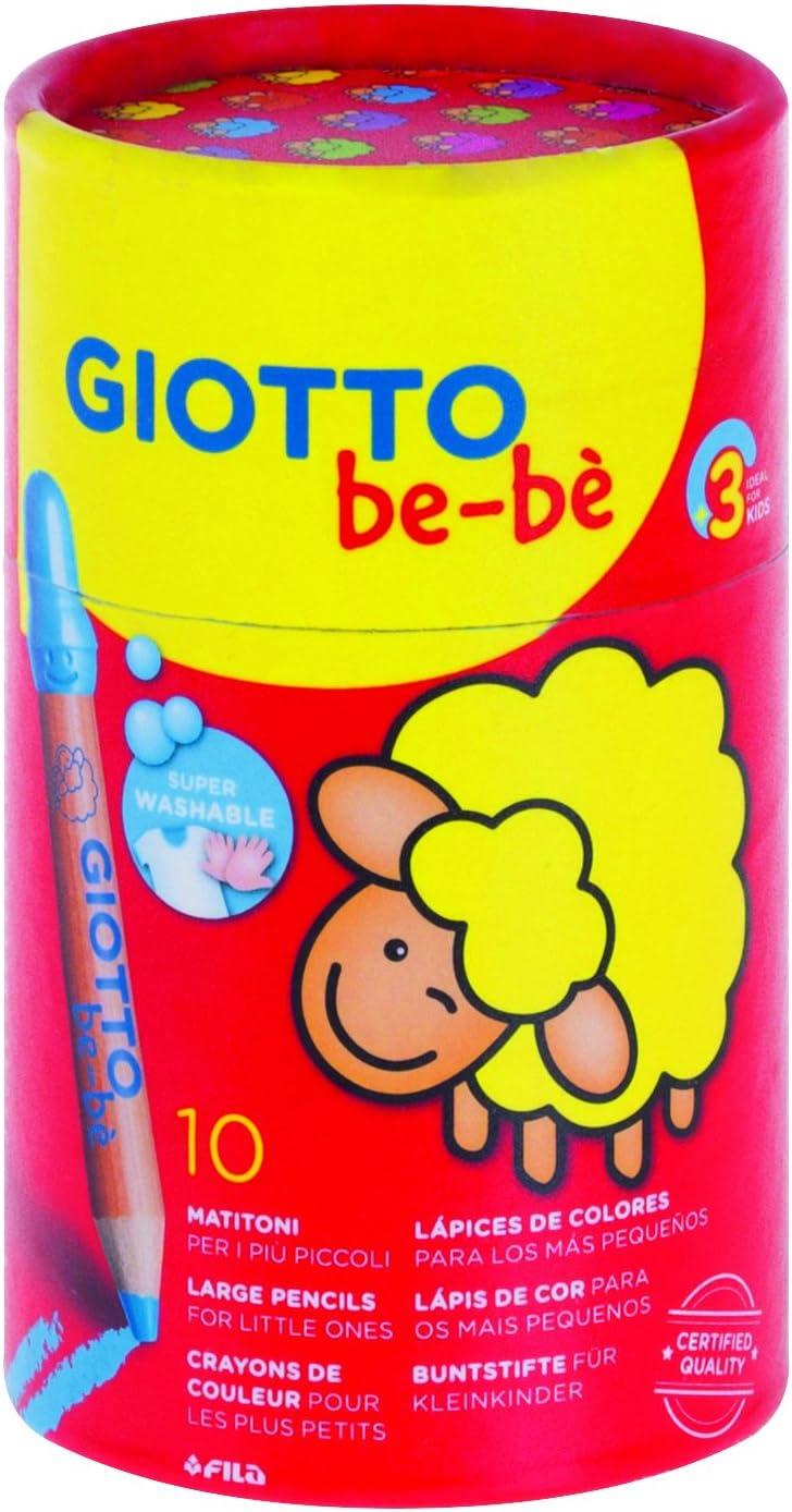 Children/'s Lavable Colorante Lápices Giotto Mezclado Color 12 Alta Calidad Punta De Fieltro