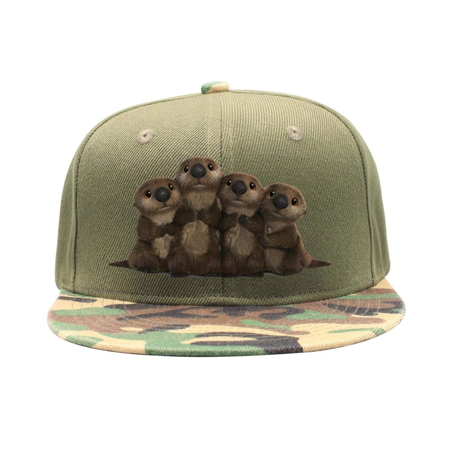 Unisex Hat + Baseball Cap + Dad Hat + Baseball Hat - Cute Sea Otters Stylish