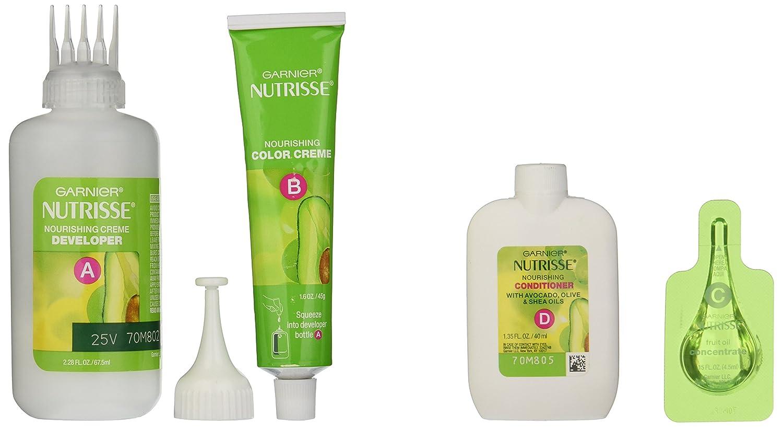 Amazon.com: Garnier Nutrisse Nourishing Color Creme, 69 Intense ...