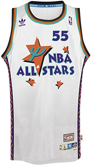 052ddc918c2 ... promo code for dikembe mutombo adidas nba throwback 1995 all star west  swingman jersey white 442f2