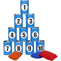 Formula Sports - Outdoor Throwing Cans - Garden Games for All Games