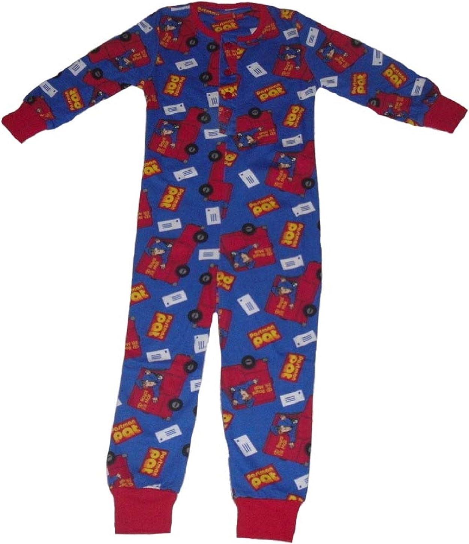 Postman Pat Boys Onesie Pyjamas