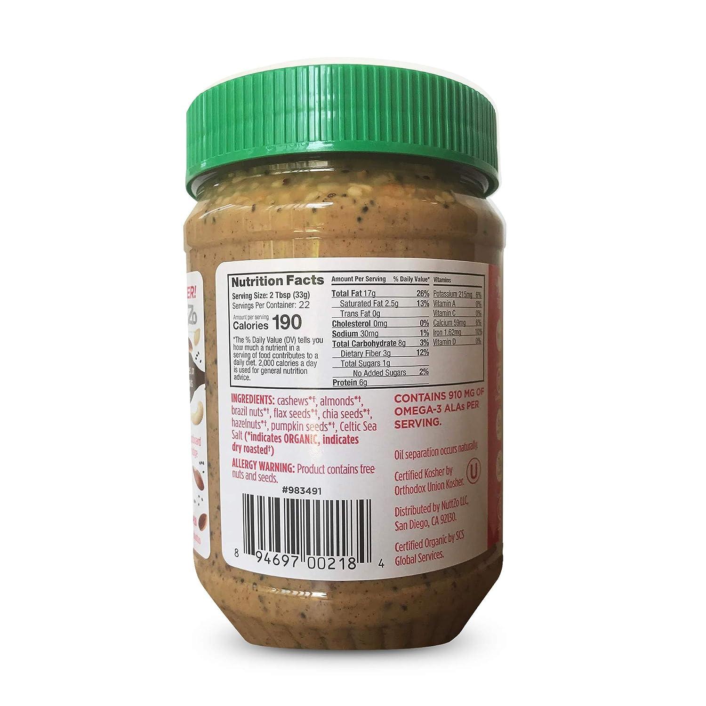Nuttzo - Mantequilla de siete tuercas y semillas de ...