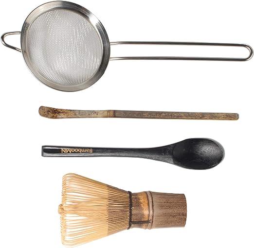 54 Prongs Nikou Batidor de t/é batidor de t/é de bamb/ú Natural Chasen Que prepara la Herramienta del Cepillo del Polvo de Matcha