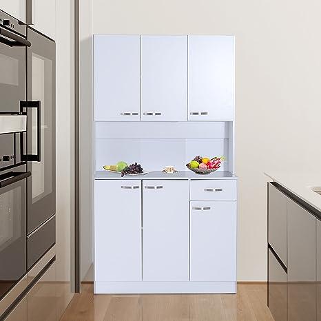 Microondas Horno soporte de almacenamiento armario para ...