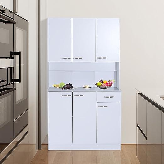 Microondas Horno soporte de almacenamiento armario para muebles de ...