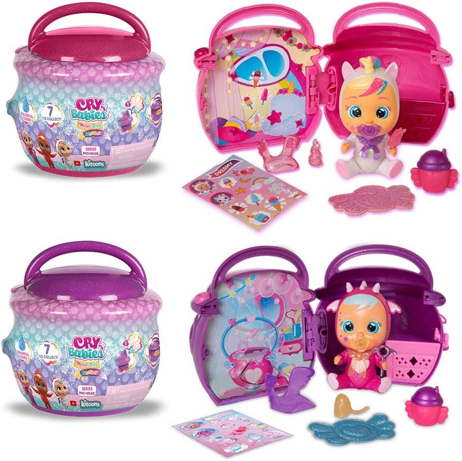 1 Sealed House Cry Babies Magic Tears Paci House Fantasy Doll Series