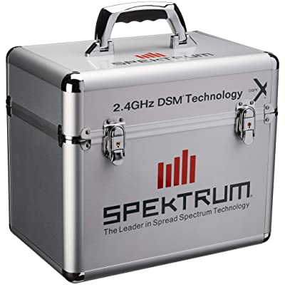 Spektrum Single Stand Up Transmitter Case: Toys & Games