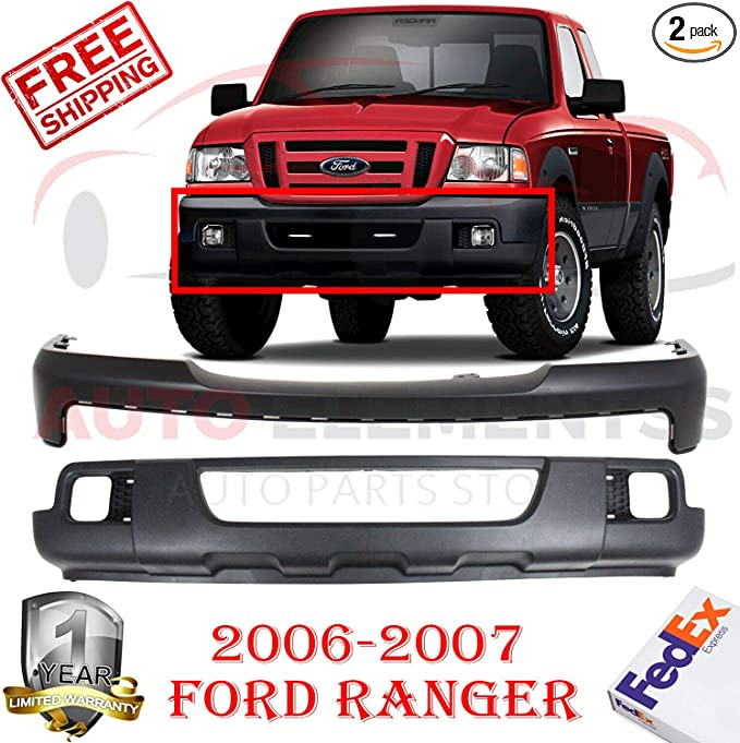 NEW FO1000608 UPPER BUMPER COVER FRONT  FOR FORD RANGER 2006 2011