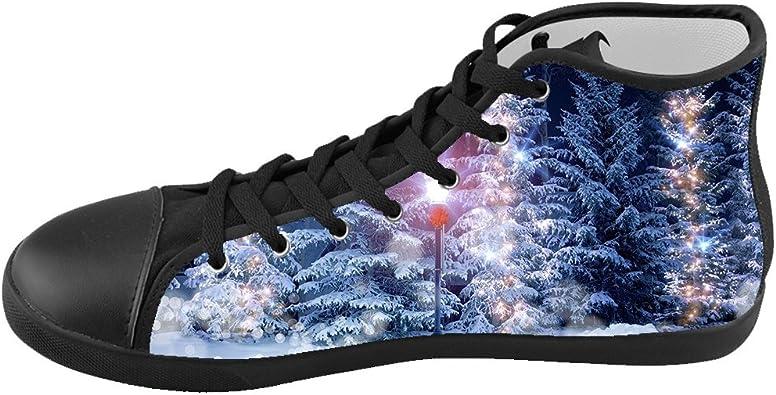 PL4QYD9 Women Music Fans Breathable Sports Shoes Winter Flat Heel Canvas Shoes
