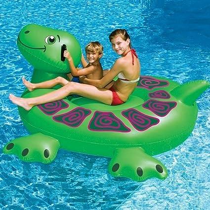 Amazon.com: PSAMR-989063 * Giant Sea Turtle Swimming Pool ...