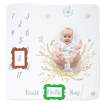 Amazon.com: Manta para bebé con diseño de ángel de té, 15.7 ...