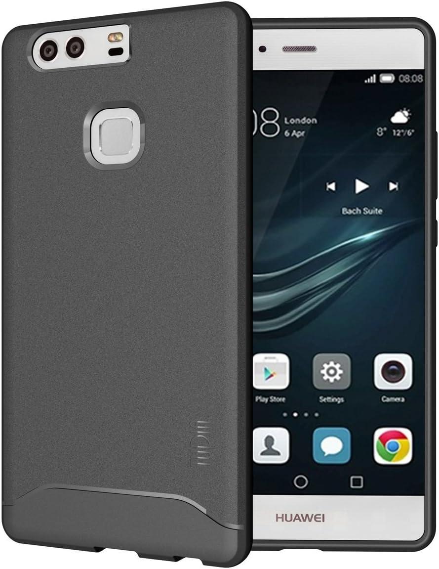 TUDIA Huawei P9 Plus Funda, Ultra Delgado Mate Completa Arch TPU Caso de Parachoques de protección Funda Carcasas para Huawei P9 Plus (Azul): Amazon.es: Hogar