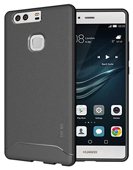 best loved dc9ad c71a1 Huawei P9 Plus Case, TUDIA Full-Matte ARCH TPU Bumper Protective Case for  Huawei P9 Plus (Gray)