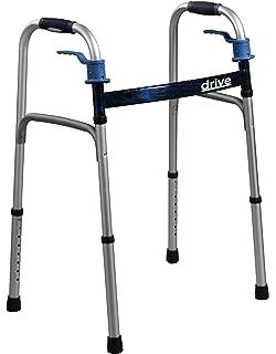 Amazon.com: Deluxe disparador plegable – Andador con ruedas ...
