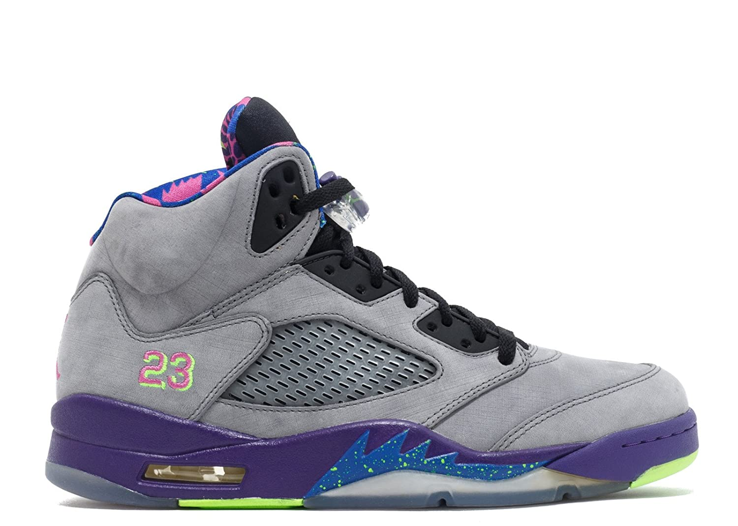 best authentic 668a7 7df5b Amazon.com   Jordan Nike Mens Air 5 Retro Bel Air Cool Grey Suede  Basketball-Shoes Size 11   Basketball