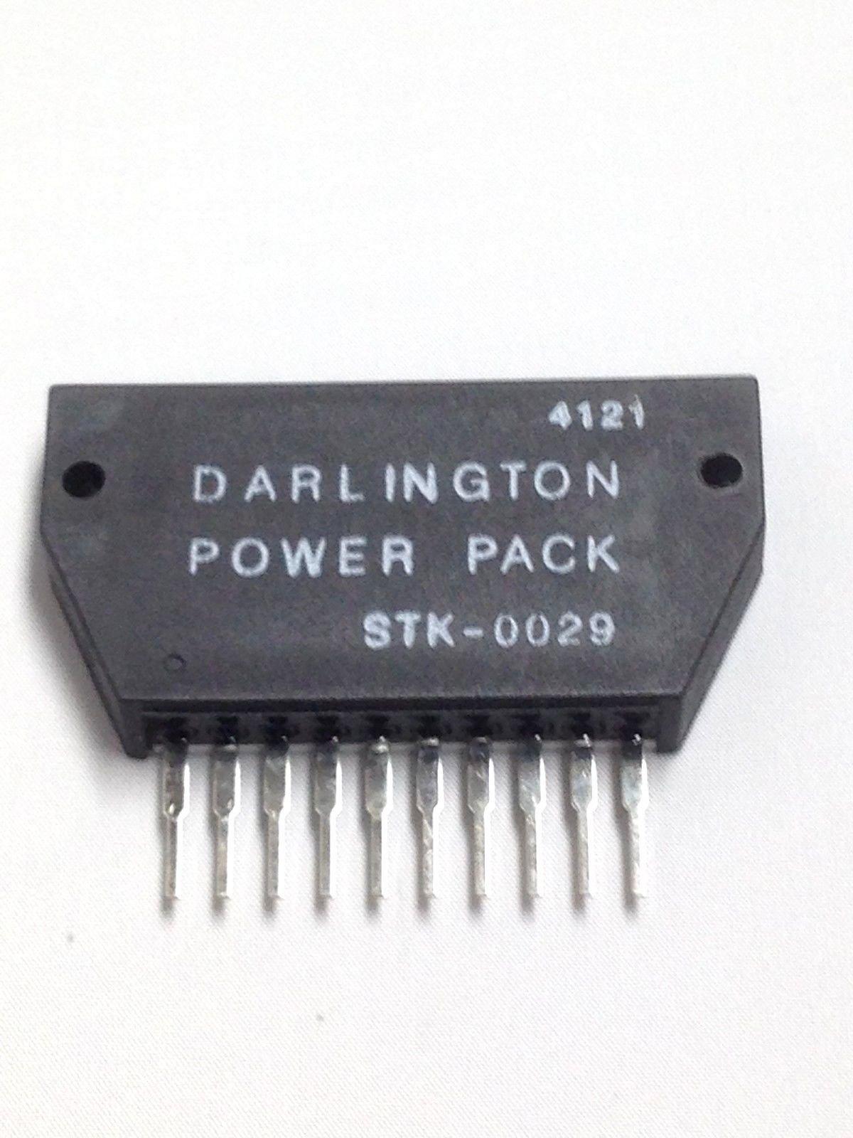 STK0029 STK-0029 DARLINGTON Power w/ Heatsink compounds 1pc