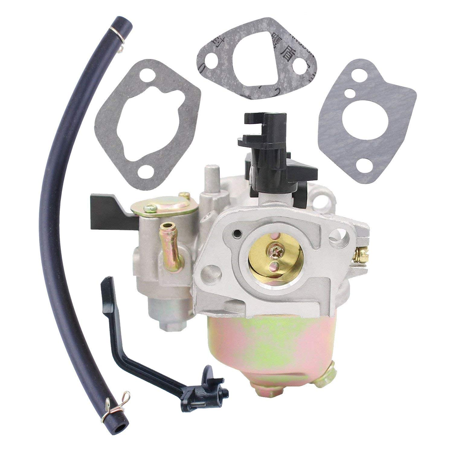 Poweka 196CC Carburetor Kit for Mini Baja 196cc 163cc 5 5hp 6 5hp Baja  Warrior Heat Mb165 Mb200 Mini Bike Replace 66015 66571 69086 69738 98963  with