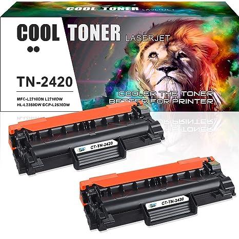 Cartucho de tóner de Repuesto para TN-2420 TN-2410 Brother HL ...
