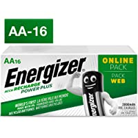 Energizer Power Plus Rechargeable AA 16 Pack Batteries