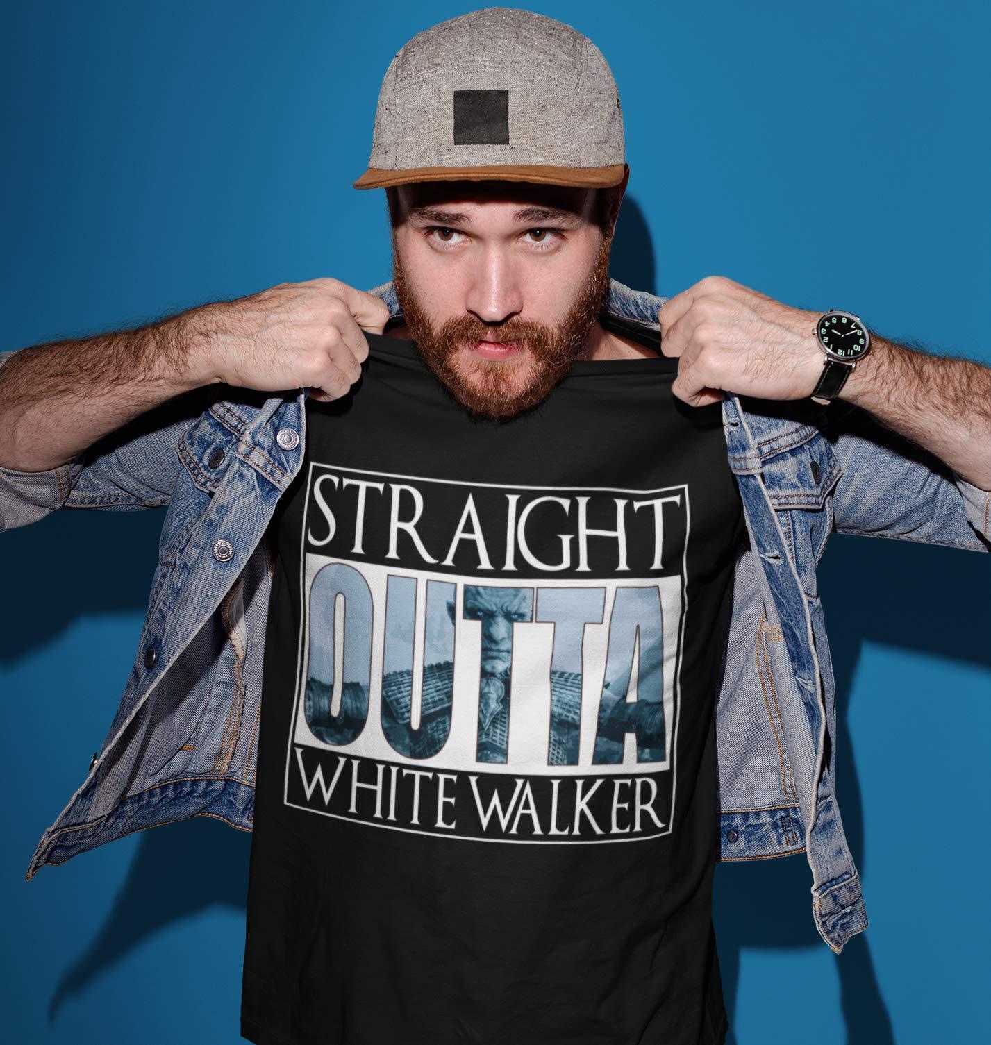Straight Outta Walker Game Customized Handmade T Shirt Sweater Tank Top