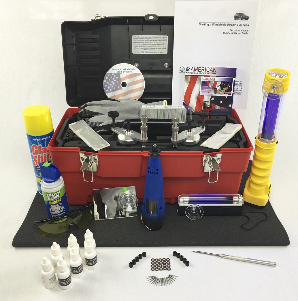 Master Kit (Windshield Chip Repair Kit)