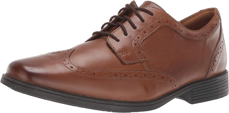 reflejar accesorios falda  Amazon.com   Clarks Tilden Wing Men's Oxford Shoes   Oxfords