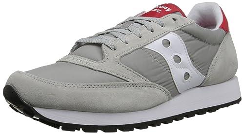 Zapatillas para hombre Saucony Jazz Original - Grey/White/Red (46 EU)