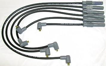 Amazon.com: MSD Juego de cables para bujías Negro ...
