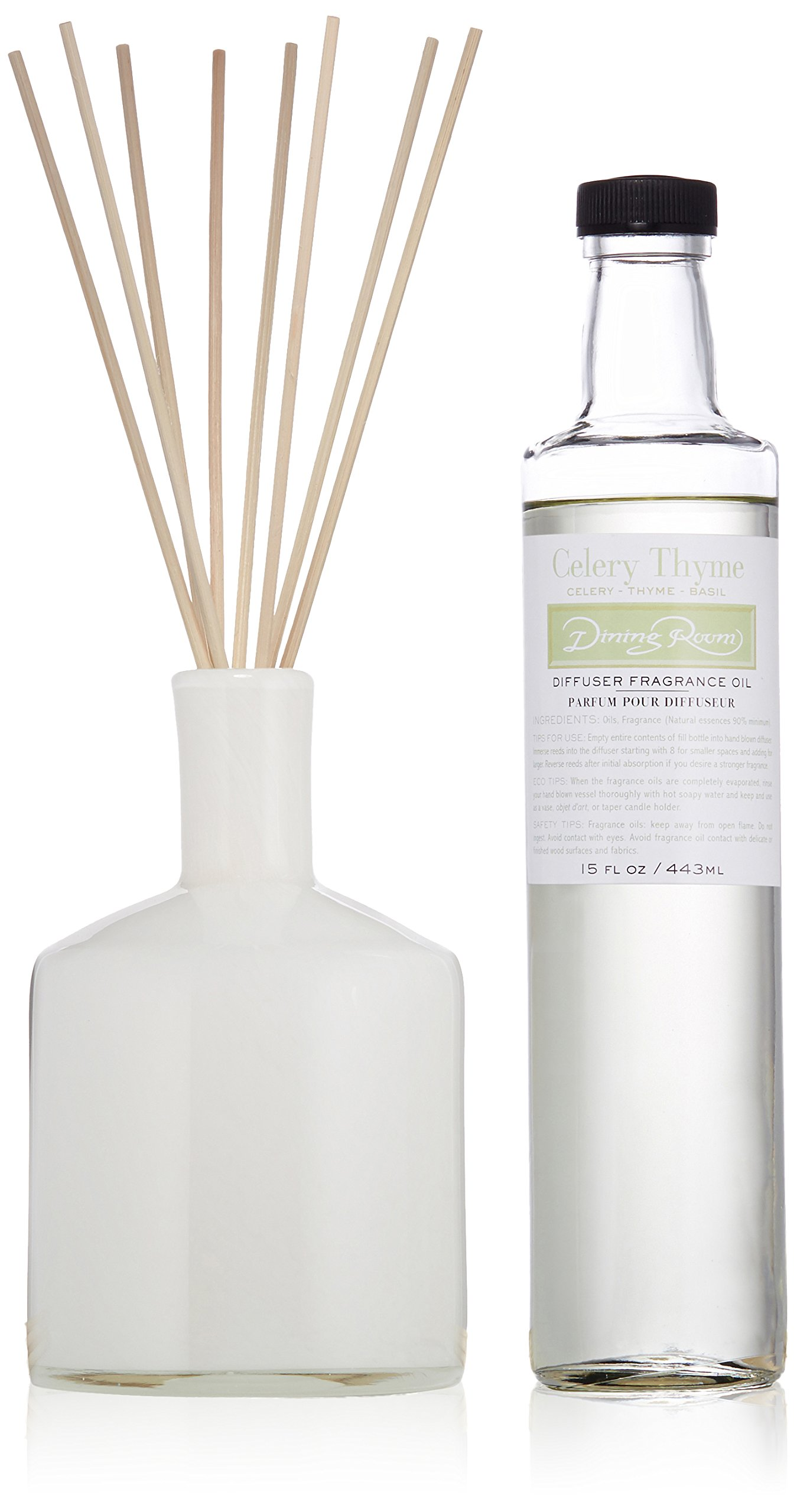 LAFCO House & Home Diffuser, Dining Room Celery Thyme, 15 Fl Oz
