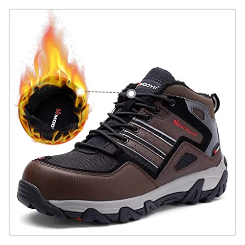 Men's Shoes Work & Safety Boots Modyf Men Steel Toe Cap Work Safety Shoes Outdoor Ankle Boots Fashion Puncture Proof Footwear Online Shop