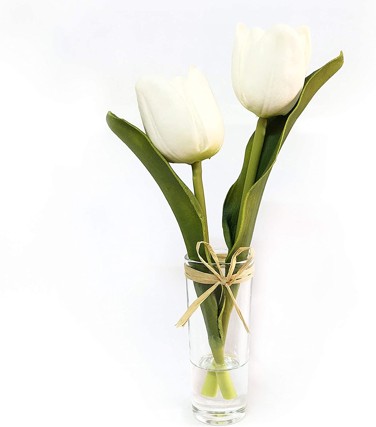 Real Touch Tulip Bouquet with Vase