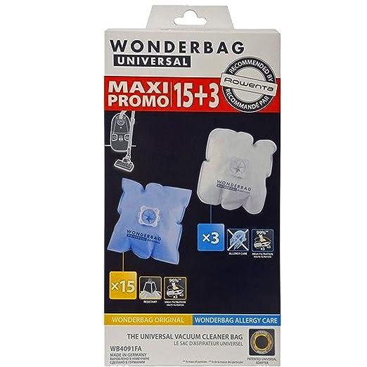 10/bolsas para aspiradora Rowenta alternativo para WonderMedia rbag Endura wb484720//Wonderbook rbag Compact wb3051/de MicroSafe/® 10 bolsas de basura