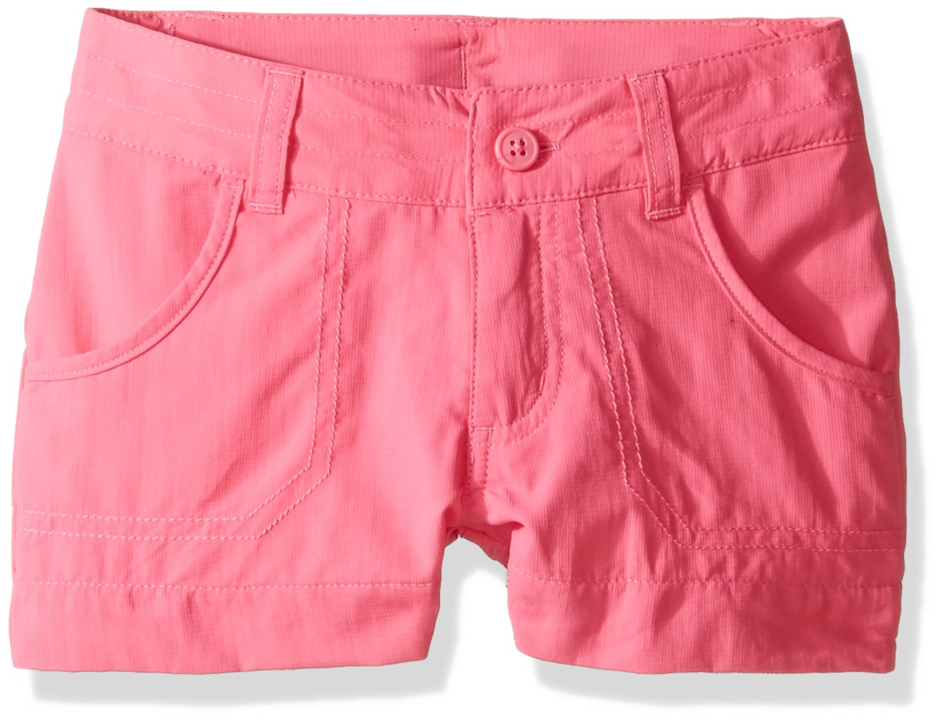 Columbia Girls Silver Ridge III Shorts, Large, Wild Geranium by Columbia