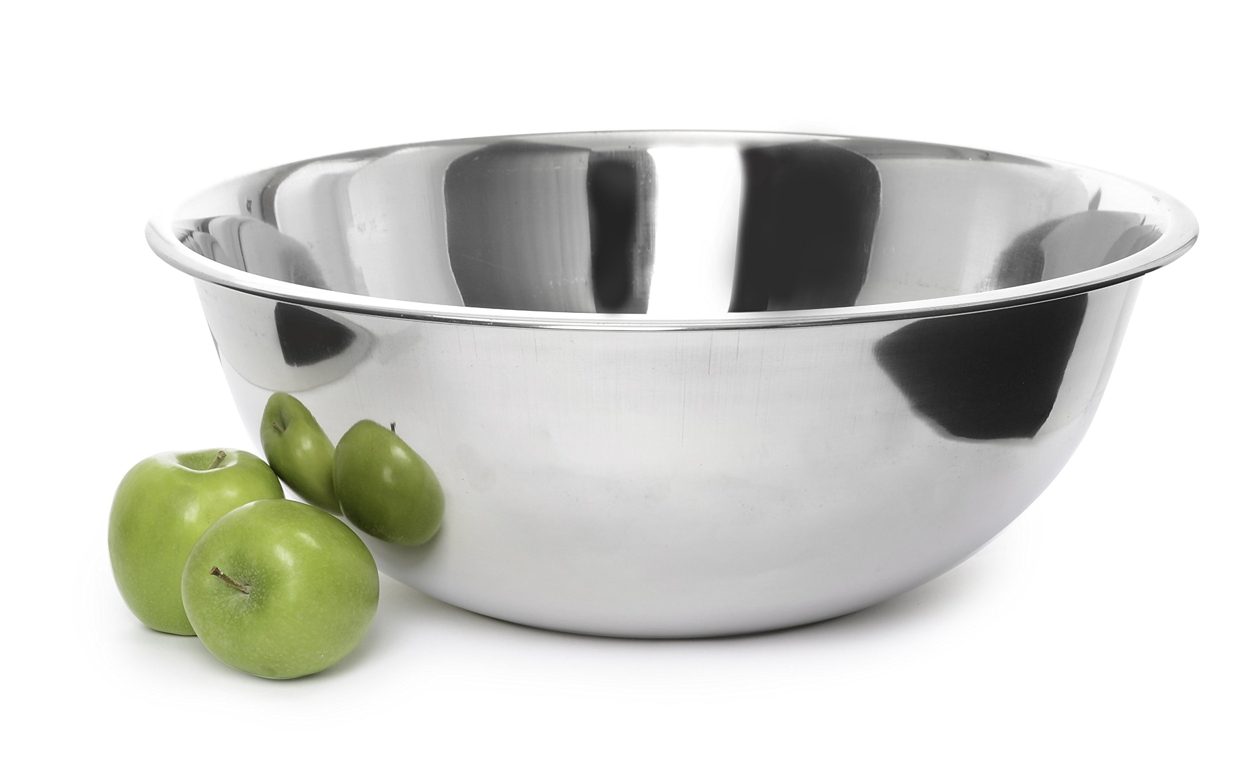 Ybmhome Heavy Duty Deep Quality Stainless Steel Mixing Bowl for Serving Mixing Baking and Cooking 1190 (22 Quart)