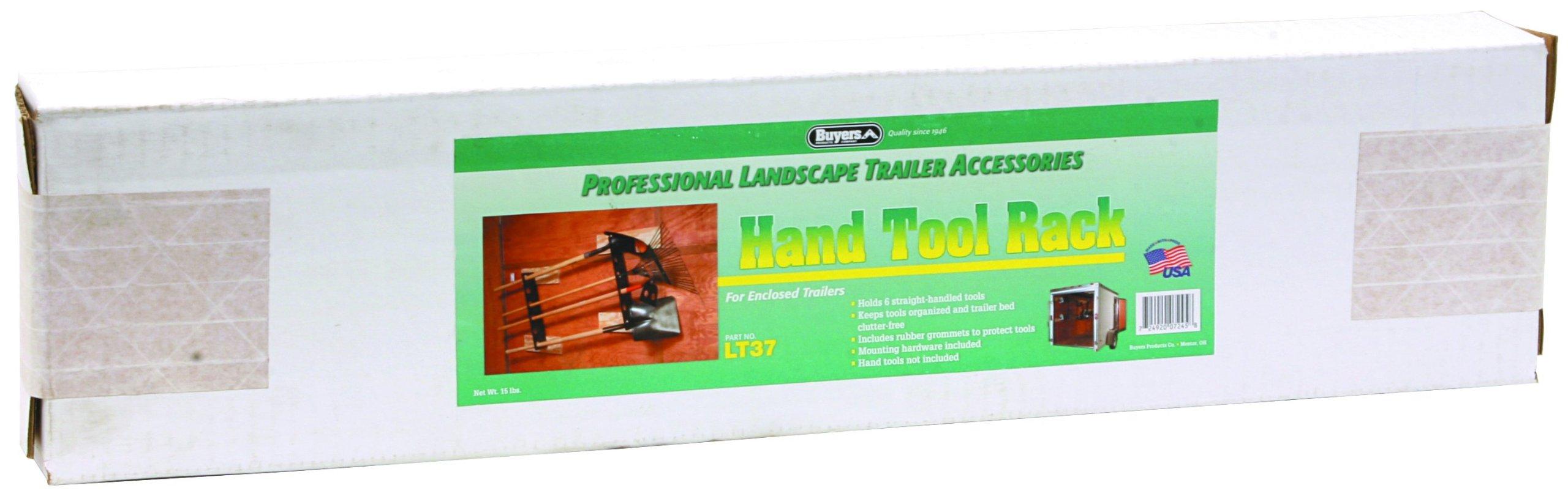 Buyers LT37 6-Tool Landscape Truck & Trailer Rack