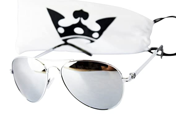 b577e0c51 Image Unavailable. Image not available for. Colour: T011-cp Triple Crown  Aviator Sunglasses ...