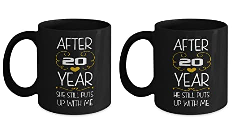 Amazon.com: 20th Wedding Anniversary Gifts Set After 20 years funny ...