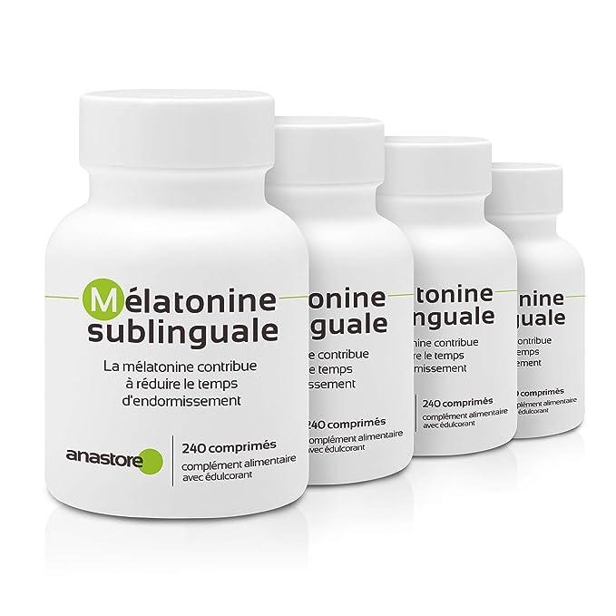 MELATONINA SUBLINGUAL OFERTA 3+1 GRATIS | Pureza garantizada superior al 99% | 1.8 mg/ 480 dosis | Estevia (Aroma de cereza)| Regulador del reloj biológico ...