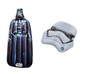 Happy People Star Wars Darth Vader - Colchón hinchable, 1: Amazon ...